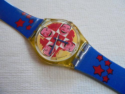 Swatch Watch Wild Laugh GJ117