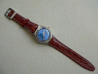 Swatch Escapade YLS111 Leather band