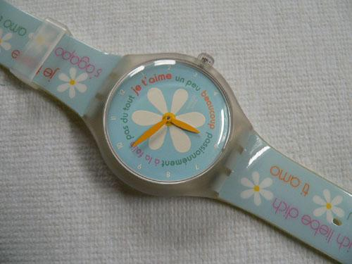 French Lover (game) STGK100 Swatch Watch