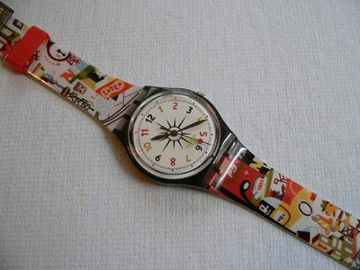 Upper East Swatch Watch