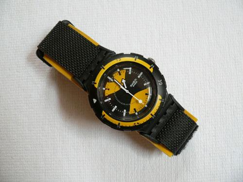 Water Wasp Scuba Swatch