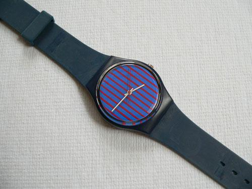 Blue Note No Date GI100 Swatch Watch