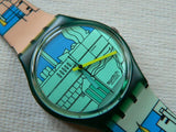 Metroscape GN109 Swatch Watch (Please read)