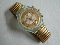 Golden Globe Chrono Swatch Watch