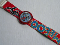 Meeeoow Pop swatch watch