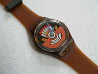 Ruffled Feathers Swatch Watch