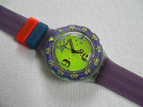 Spray Up SDN103 Scuba 200 Swatch Watch
