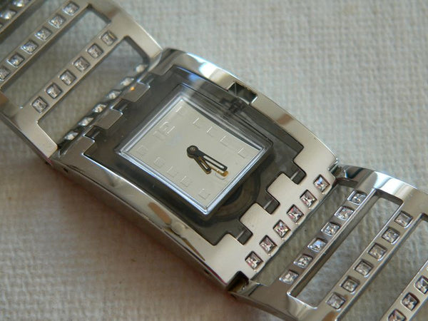 Square Brilliant Bangle SUBM103