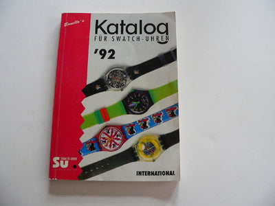 Katalog for Swatch 1992