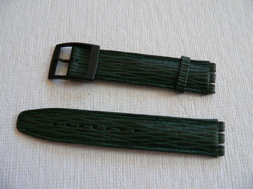 Green Rollerball Leather band