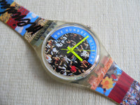 The People Swatch Watch signed by Mendini