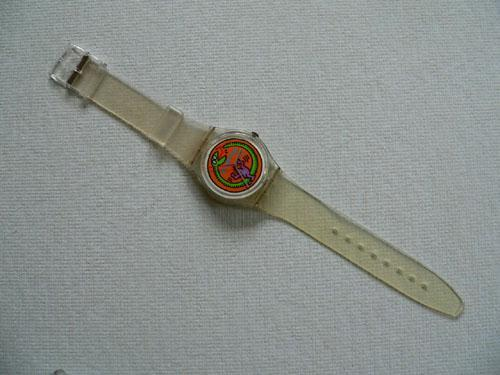 Serpent GZ102 Keith Haring Swatch Watch