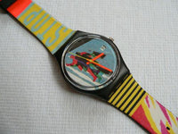 Taxi Stop GB410 Swatch Watch