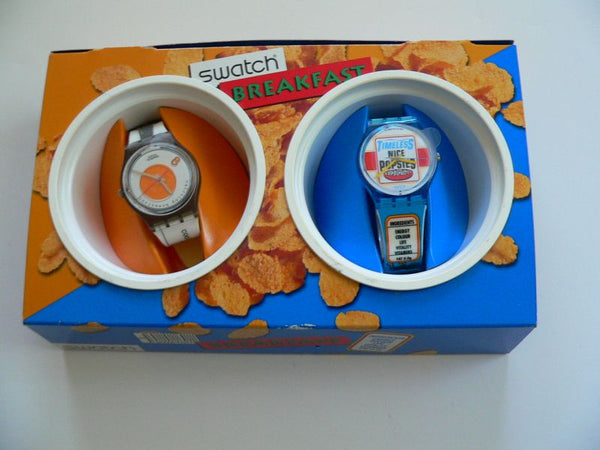Swatch Breakfast Set (Sunny Side Up+Good Morning) GZS13PACK Please read