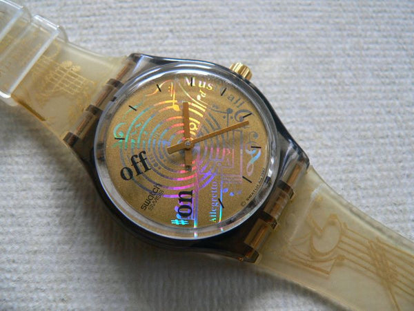 Swatch watch Spartito Musical