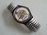 Big Enuff Swatch Watch Flexible band