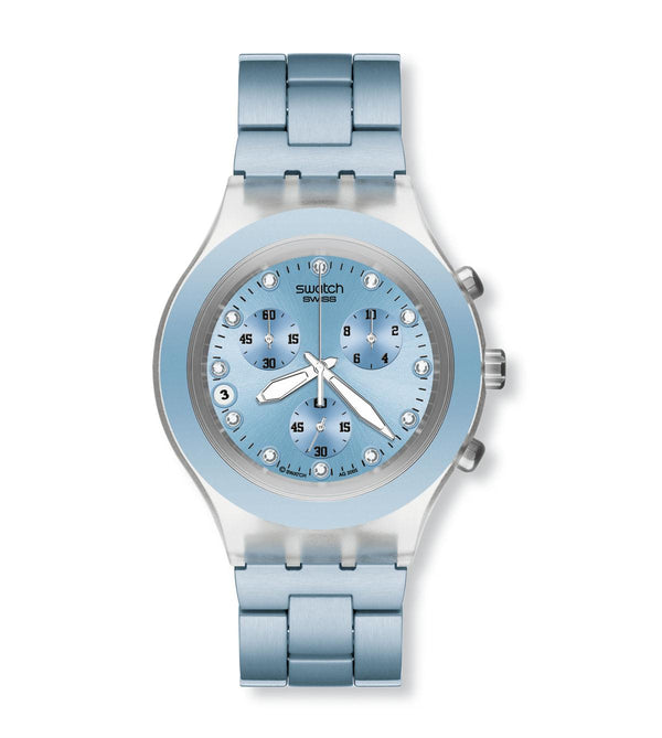 Full Blooded Blue SVCK4036AG Swatch Watch