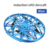 mini drone Anti-collision Hand UFO Helicopter UFO Ball Flying Aircraft small intelligent induction quadcopter Drones toys gift