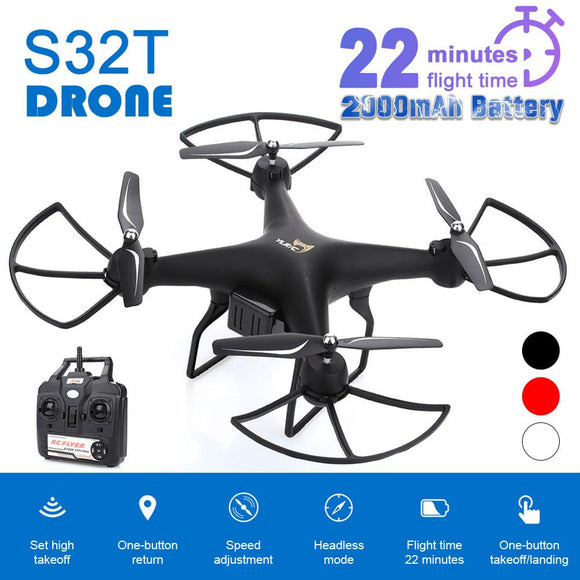 Drone 4K S32T Rotating Camera Quadcopter HD Aerial Photography Air Pressure Hover a key landing flight 22 minutes Camera Drone