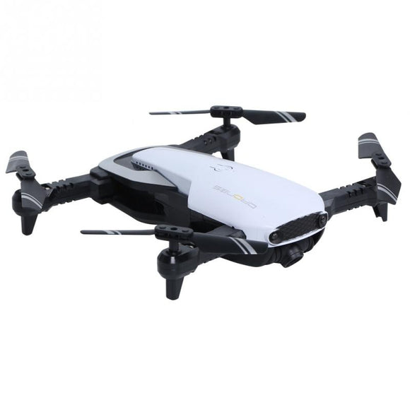 H2 2.4G Foldable Mini RC Selfie Drone 0.3/ 2.0MP HD Camera Wifi FPV Drone with Optical Flow Positioning RC Quadcopter Drone