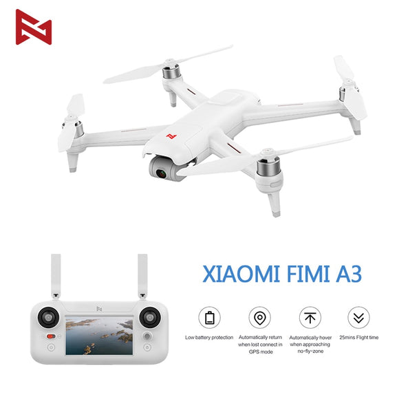 FIMI A3 RC Drone 5.8G GPS 1KM FPV With HD 1080P Gimbal Camera 2-axis Quadcopter RTF