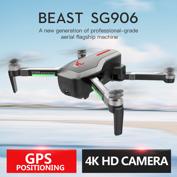 SG906 CG033 1KM WiFi FPV HD 1080P Gimbal Camera GPS Brushless Foldable RC Drone Quadcopter RTF VS F11 S70W  DRONE