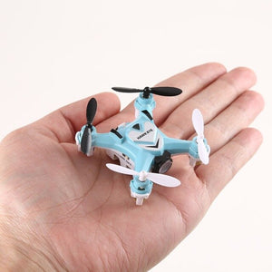 2019 New 2.4G 4 Channel Mini RC Quadcopter Drone  Durable Headless Mode One Key Automatic Return Toys Ready-to-Go 6-Axle Gyro