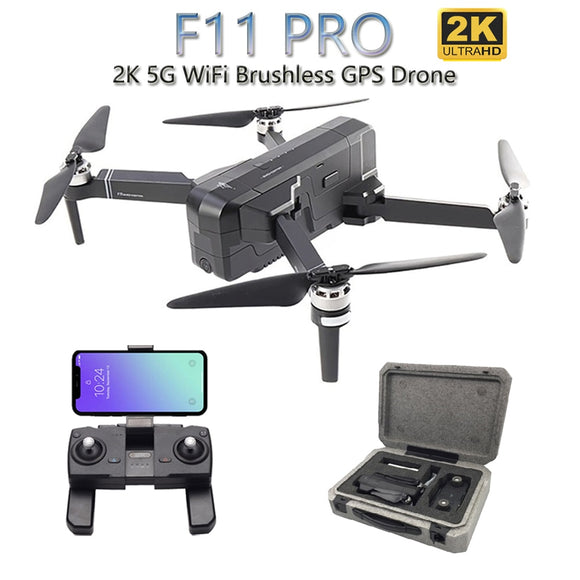 SJRC F11 PRO 5G WiFi RC Drone GPS Foldable Drones With 2K Camera HD Brushless Quadcopter Drone 28 Mins Flight Time VS F11 SG906