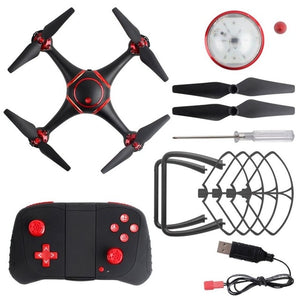 S7 LED Night Vision RC Drone 720p Camera 30w WIFI black RC Quadcopter 360 Rolling Headless Mode Helicopter RC Drone Quadcopter