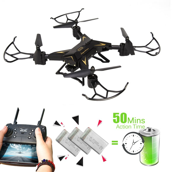 T-REX Drones with Camera HD 1080P WIFI FPV Drone Profissional RC Helicopter Altitude Hold Quadcopter Dron Toys