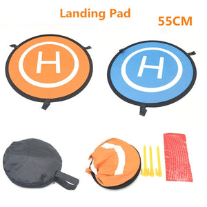 55cm Fast-fold Landing Pad Universal FPV Drone Parking Apron Foldable Pad For DJI Spark Mavic Pro FPV Racing Drone Accessories
