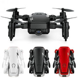TXD-G1 Foldable Mini Camera Drones With/Without 0.3/2MP HD Camera High Hold Mode RC Quadcopter RTF WiFi FPV Foldable RC Drone