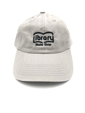Library- Dad Hat Chrome