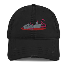 Load image into Gallery viewer, STREET • RAT Distressed Dad Hat