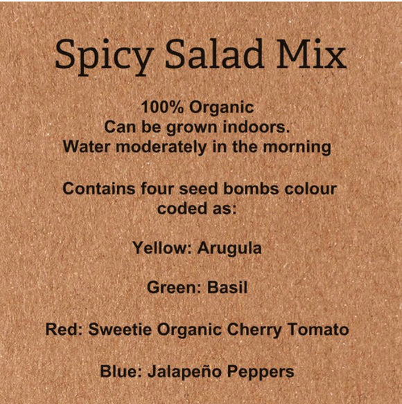 Spicy Salad Mix -- Pre Orders for April 13th