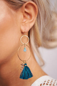 Serene Tassel Earrings