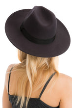 Load image into Gallery viewer, The Panama Wide Brim Hat - Charcoal