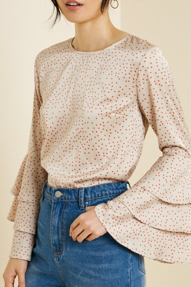 The Hannah Bell Sleeve Top