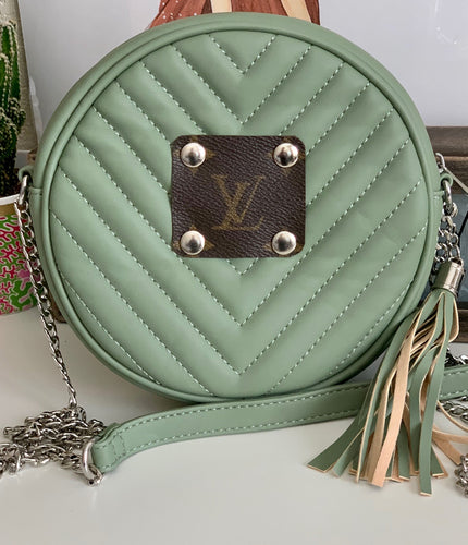 Del Mar Round Cross Body - Green