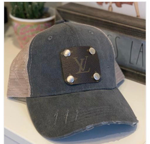 Hide the Rays LV Distressed Hat
