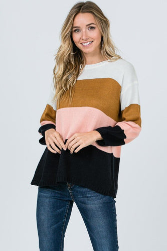The Sedona Striped Sweater