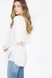 Moore Long Sleeve Knit Top