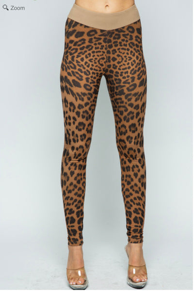 VOCAL 18323P Cheetah Legging