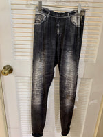 #1 Seller ISLE Printed Jeans Legging 411-750