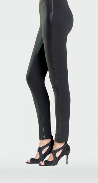 CLARA SUNWOO LG412 Liquid Leather Front Legging
