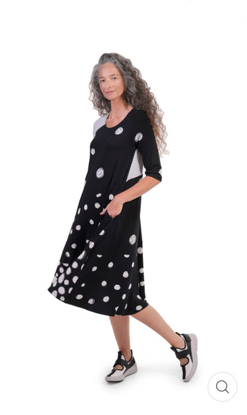 ALEMBIKA SD244C LIA JERSEY SWING DRESS