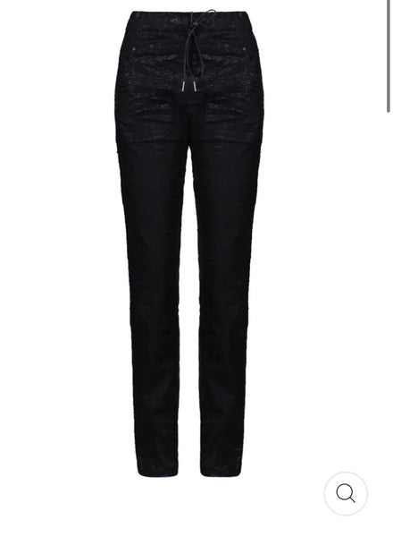 ALEMBIKA SP107B ICONIC STRETCH JEANS, BLACK