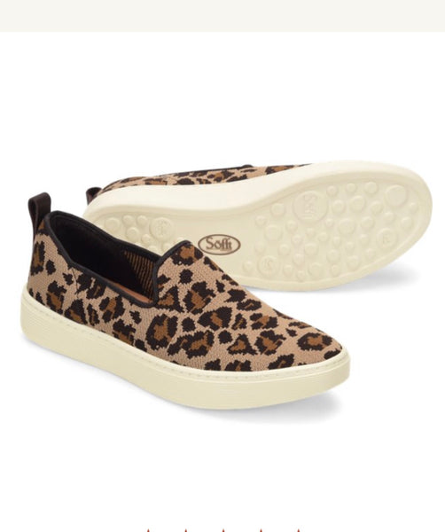 SOFFT SOMERS SLIP ON KNIT Animal Shoe