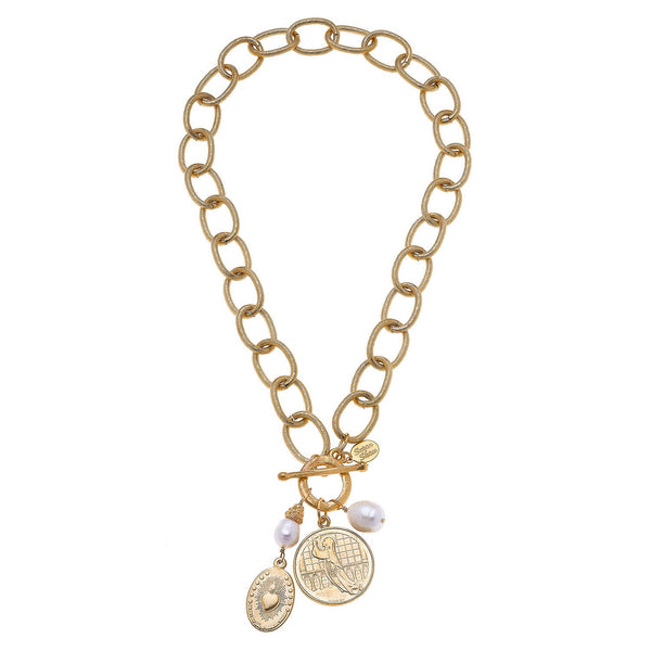 SUSAN SHAW 3544G Necklace
