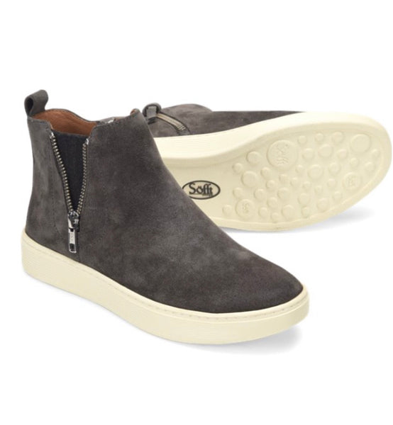 SOFFT BRITTON ZIP Shoe - Smoke